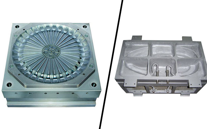 Injection Mold tooling materials: Steel vs Aluminum